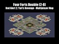 C&C RA2:YR - Four Forts Double MP-Map