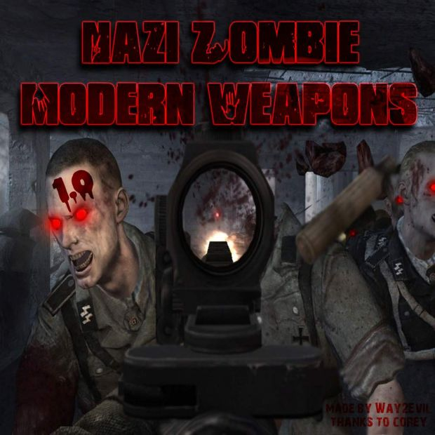 Nazi Zombie Modern Weapons 1.0