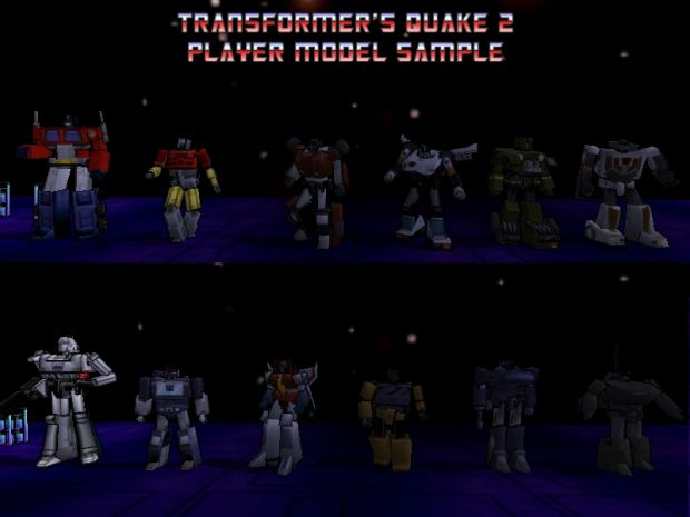 TFQ2 Official Player Model Pack 1