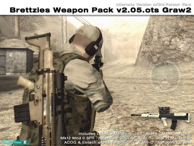 Brettzies Weapon Pack v2.05.ots - Graw2