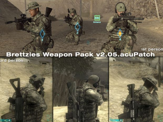 Brettzies Weapon Pack v2.05 acuPatch