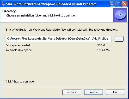 SWB: Weapons Reloaded Version 4 Installer