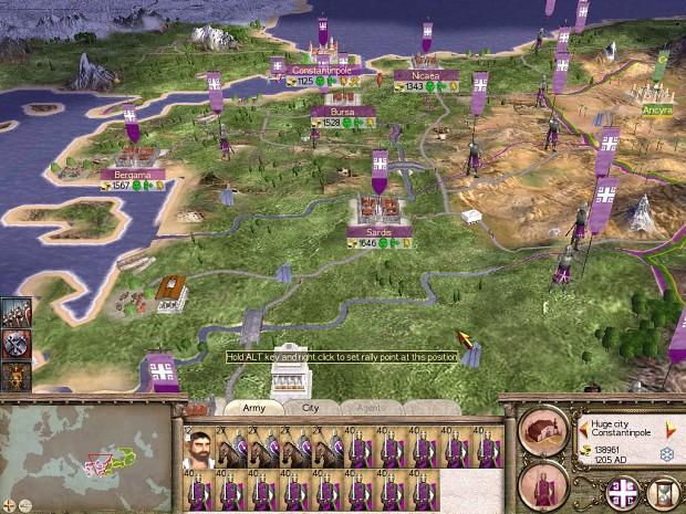 Rome Medieval Beta 1.5 Hotfix