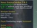 Natur EnemyCastBar 5.10
