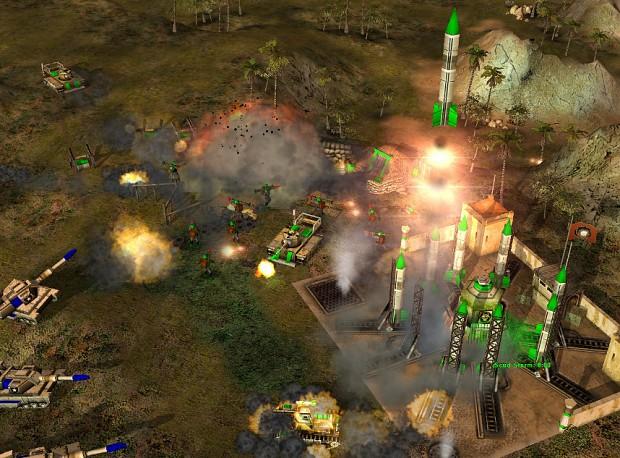 Sonic Warfare Map