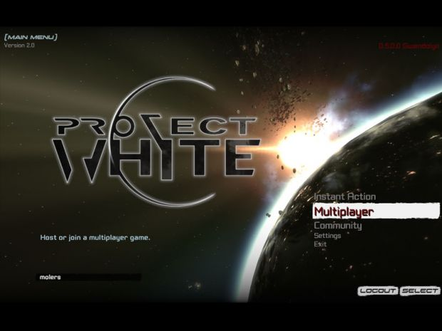 Project-White v.0.5 Alpha