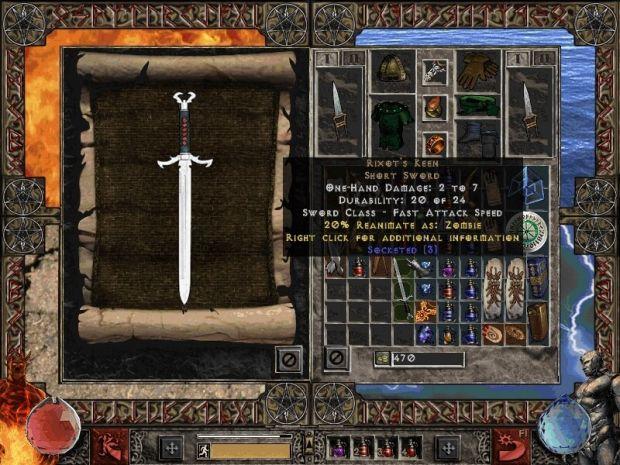 Мод является одной из наиболее существенных переработок Diablo II LoD, не т