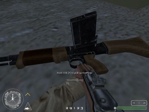 Unscoped FG42 Weapon Pack