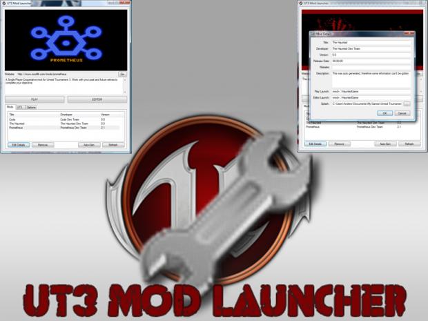 UT3 Mod Launcher
