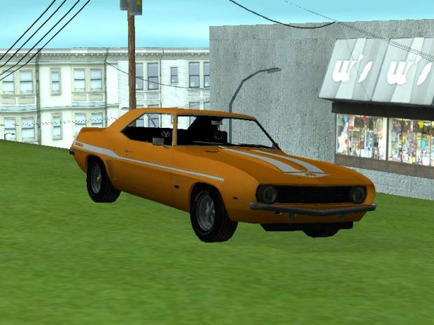 GTA SA Christine Mod Beta v1 (SAMI)