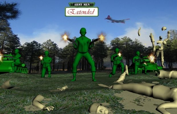 Army Men Extended - Wallpaper Pack