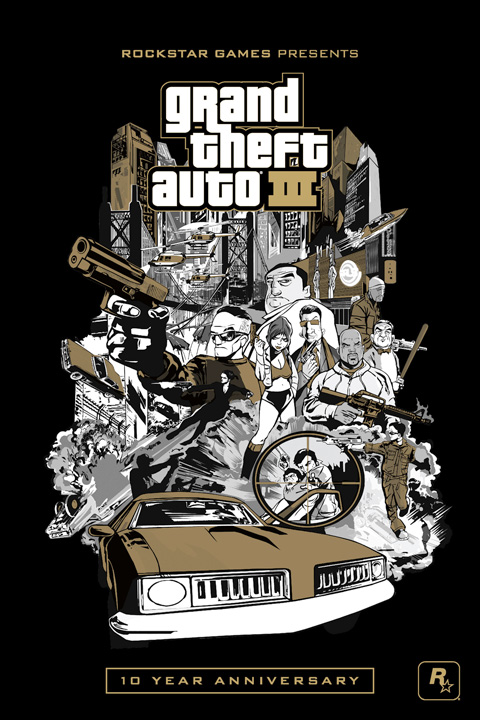 Grand Theft Auto III: 10 Year Anniversary PC Edition V4.1.5 (Win 7)