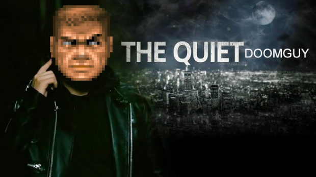 The quiet doomguy (Jokewad)