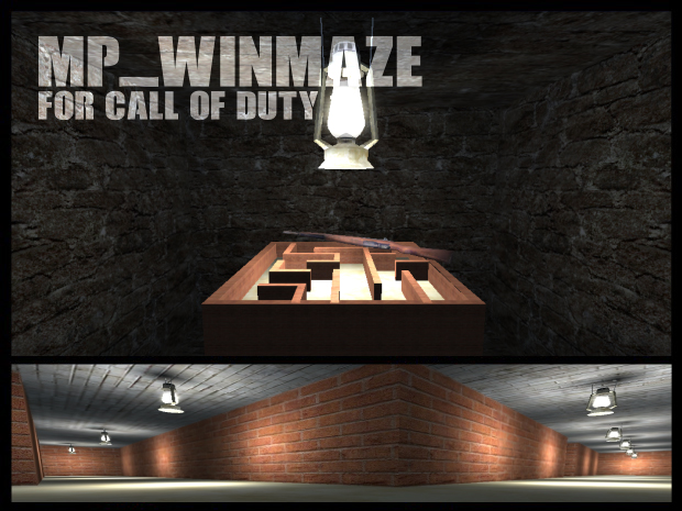 MP_WINMAZE map for Call of Duty 1