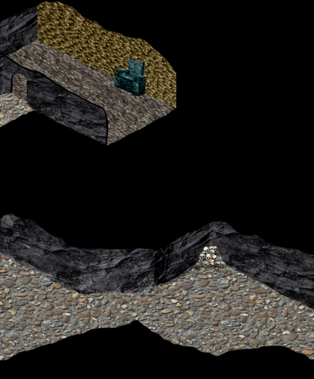Gnoll caves for ToEE Keep on the Borderlands mod