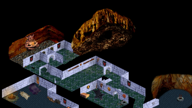Hobgoblin map for keep on the borderlands mod for The Temple of Elemental Evil