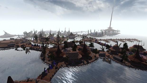 Kashyyyk Platforms Sea Haven