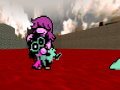 Susie 1.0 and Ralsei 1.2