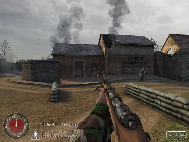 CoD Axis Player Mode (2k18) - Dawnville Demo