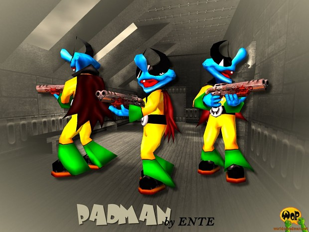 HD-Skins for ENTE's Padman for Quake 3 Arena