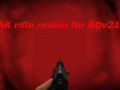 BDv21 AK rifle reskin