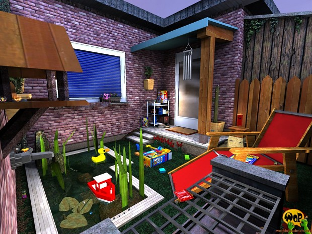 ENTE's PadGarden (new version) for Quake 3 Arena