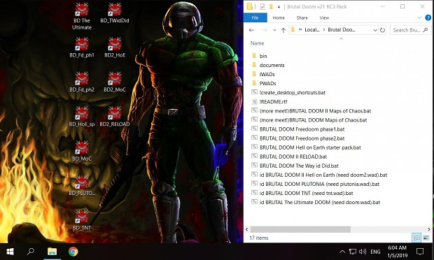 Brutal Doom v21 RC3 Pack 11in1 by ZenDarkmaster