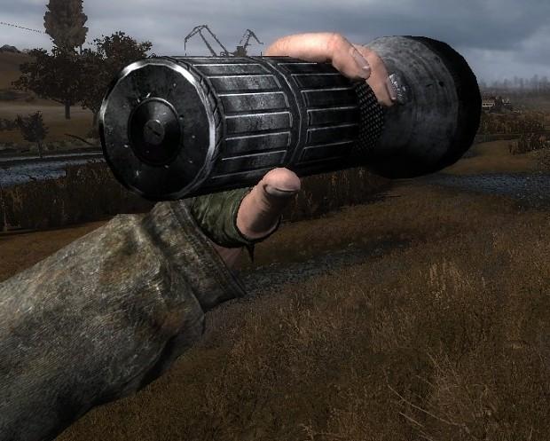 Stalker Road to the North flashlight draw sound revamp NO MORE SHOTGUN
