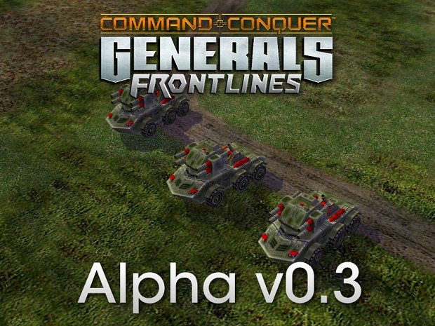 Generals Frontlines Alpha v0.3