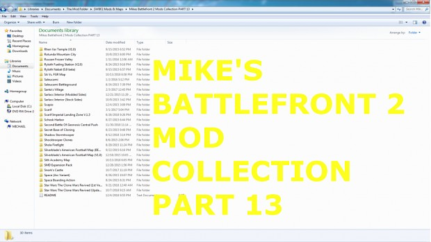 Mikes Battlefront 2 Mods & Maps Collection #13