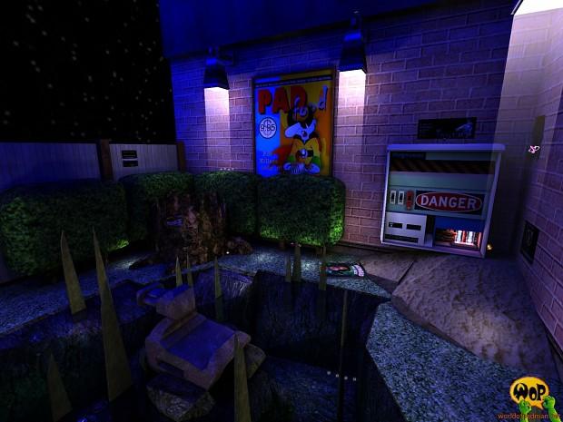 ENTE's PadPool for Quake 3 Arena