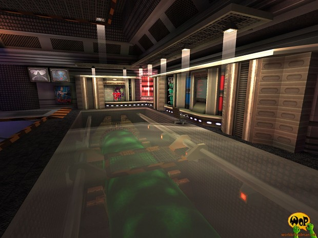 ENTE's PadSpace for Quake 3 Arena