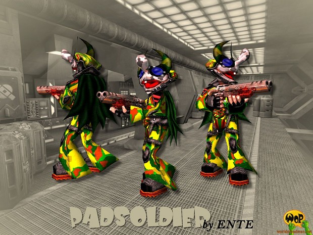 PadSoldier for Quake 3 Arena