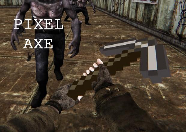 Pixel Axe