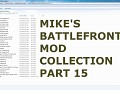 Mikes Battlefront 2 Mods & Maps Collection #15