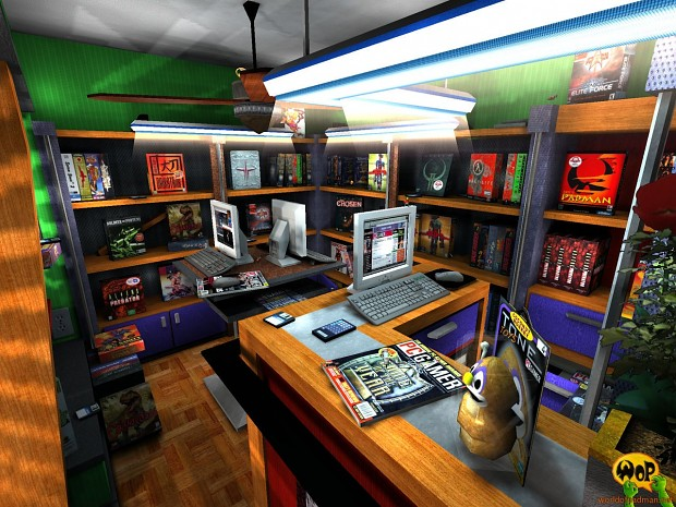 ENTE's PadShop for Quake 3 Arena