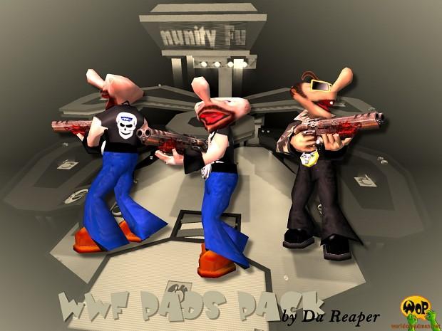 WWF Pads for Quake 3 Arena