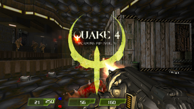 Quake 4 Weapons Rip Vol. 5 - Version 1.4.2 (Brightmaps)