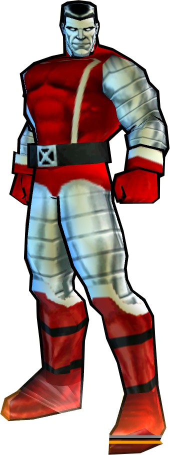Colossus' 2nd Outfit - PS2 Skin
