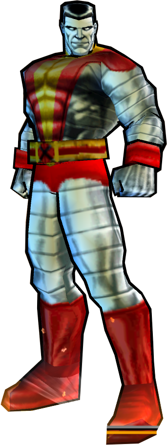 Colossus' Astonishing X-Men Outfit - PS2 Skin