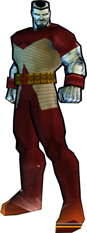 Colossus' Extraordinary X-Men Outfit - PS2 Skin