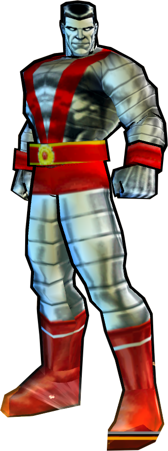 Colossus' Post-Secret Wars Outfit - PS2 Skin