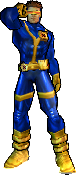 Cyclops' 90s Outfit - PS2 Skin