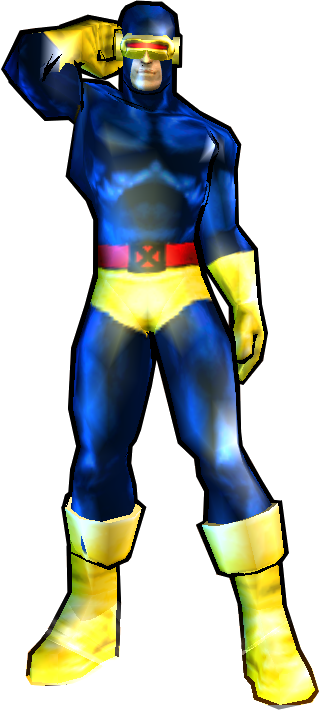 Cyclops' Classic Outfit Fix - PS2 skin