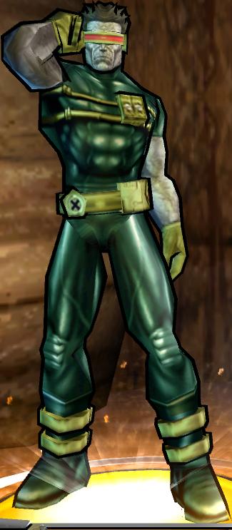 Cyclops' Dark Outfit Fix - PS2 skin