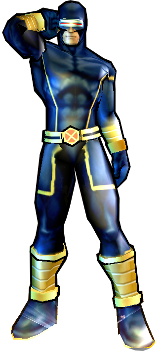 Cyclops' Heroic Age Outfit - PS2 skin