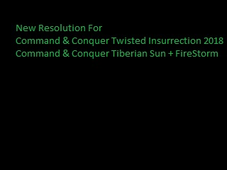 New Resolution For Twisted Insurrection