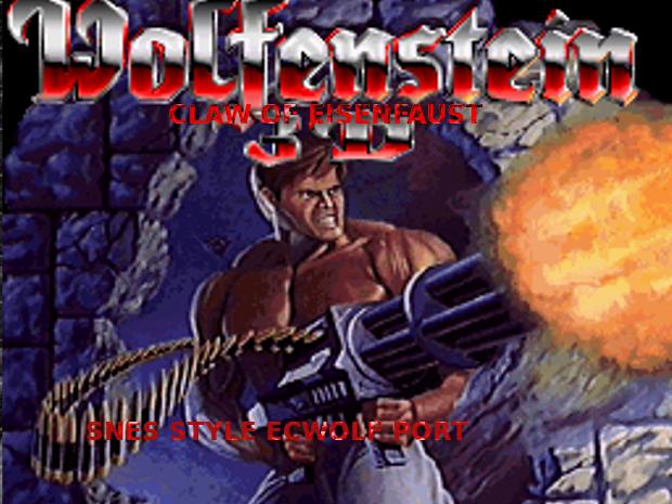 Wolfenstein 3D - Claw of Eisenfaust (SNES-to-ECWolf Port)