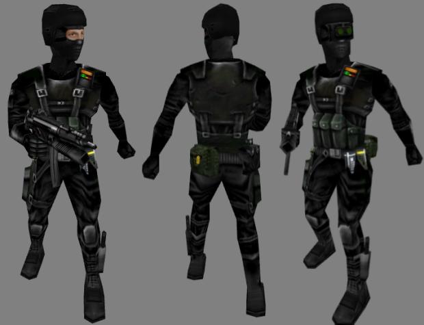 Nova's Tactical Male Black Ops Assassins