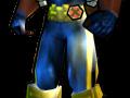 Bishop Astonishing X-Men (Vol 4) Outfit - PS2 Skin